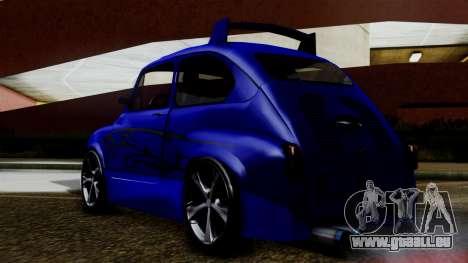 Zastava 750 Tuning pour GTA San Andreas laissé vue