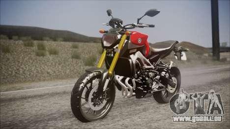 Yamaha MT-09 für GTA San Andreas