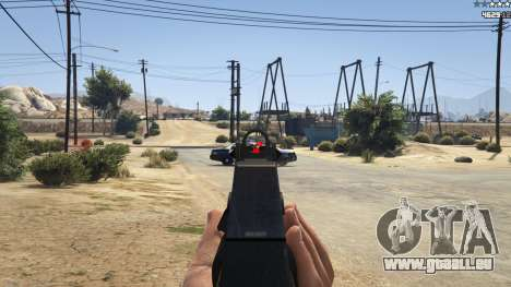 GTA 5 Combat HUD 1.0.2 troisième capture d'écran