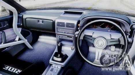 Mazda RX-7 (FC) pour GTA San Andreas sur la vue arrière gauche