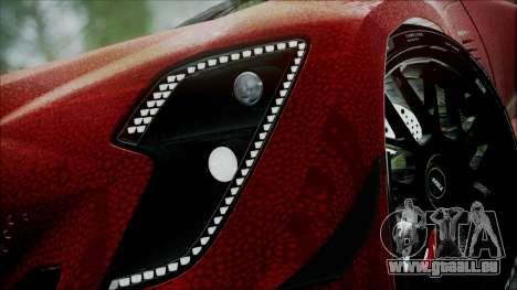 Bertone Mantide 2010 pour GTA San Andreas sur la vue arrière gauche