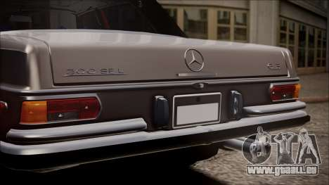 Mercedes-Benz 300 SEL 6.3 pour GTA San Andreas vue arrière
