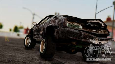 Post-apocalyptic Buffalo pour GTA San Andreas laissé vue