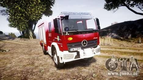 Mercedes-Benz Atego 1530 Firetruck [ELS] pour GTA 4