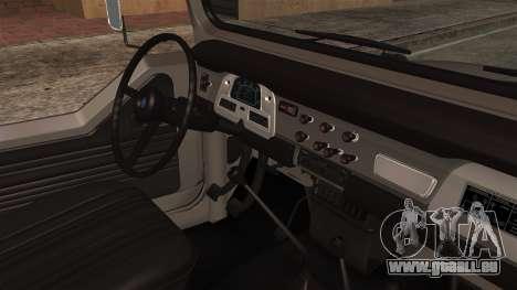 Toyota Land Cruiser J40 1980 für GTA San Andreas rechten Ansicht
