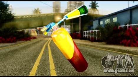 Brasileiro Fire Extinguisher pour GTA San Andreas deuxième écran