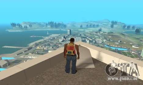 Erhöhung der Reichweite der Vektorisierung für GTA San Andreas zweiten Screenshot