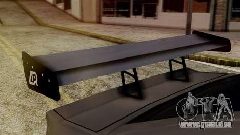 AR Buffalo pour GTA San Andreas sur la vue arrière gauche
