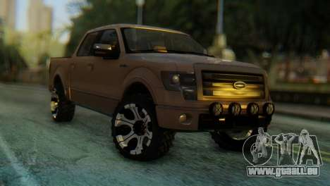 Ford F-150 2013 Work Hard pour GTA San Andreas