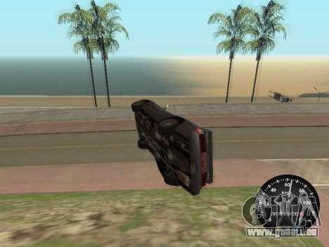 Indicateur de vitesse de GAZ 52 pour GTA San Andreas deuxième écran