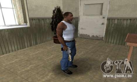 Flame Deagle für GTA San Andreas dritten Screenshot