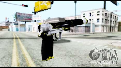 USP-S Torque pour GTA San Andreas deuxième écran