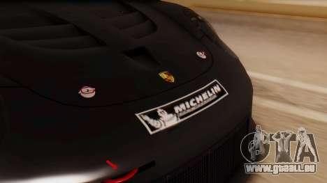 Porsche 911 RSR für GTA San Andreas Rückansicht