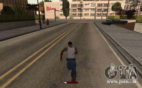 SprintBar für GTA San Andreas