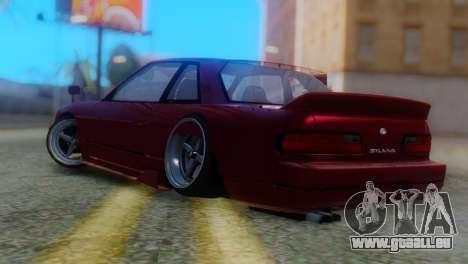 Nissan Silvia S13 Shakotan pour GTA San Andreas laissé vue