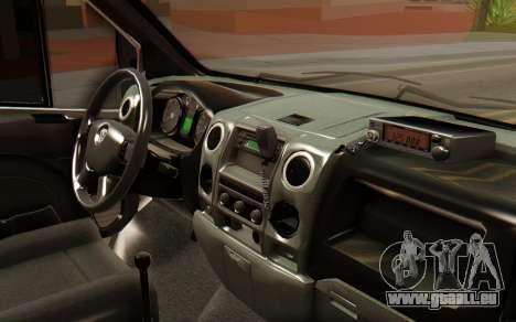 GAZelle MOI pour GTA San Andreas vue de droite