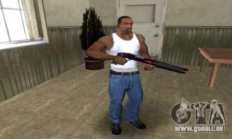 Redl Shotgun pour GTA San Andreas troisième écran