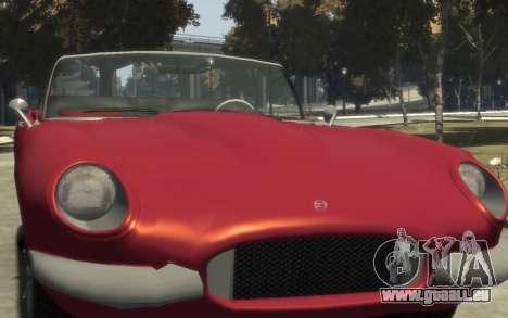 Enus Windsor Classic für GTA 4 Seitenansicht