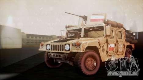 Polish HMMWV für GTA San Andreas