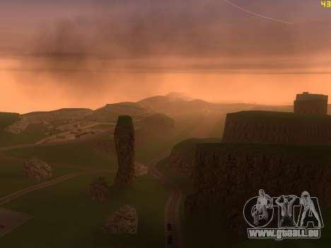 Green desert de Las Venturas v2.0 pour GTA San Andreas cinquième écran