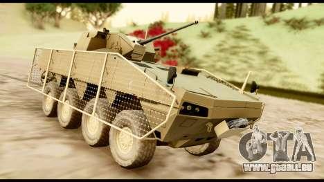 KTO Rosomak M1M Desert für GTA San Andreas