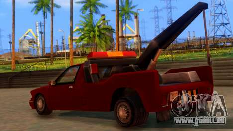 Premier Towtruck pour GTA San Andreas laissé vue