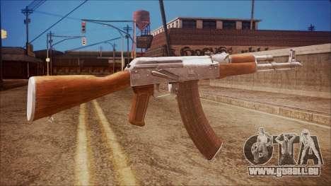 AK-47 v7 from Battlefield Hardline pour GTA San Andreas deuxième écran