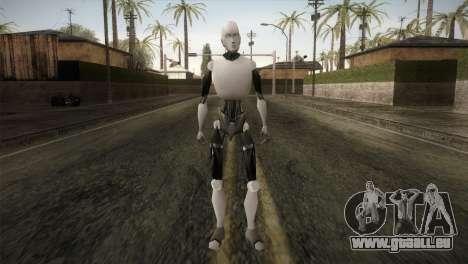 I am a Robot Skin pour GTA San Andreas deuxième écran