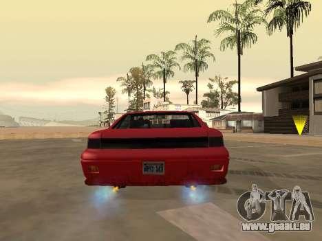 Supprimer l'effet de flou lorsque vous allumez n pour GTA San Andreas troisième écran