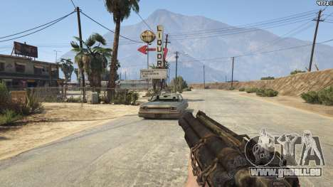 Mob of the Dead Blundergat pour GTA 5
