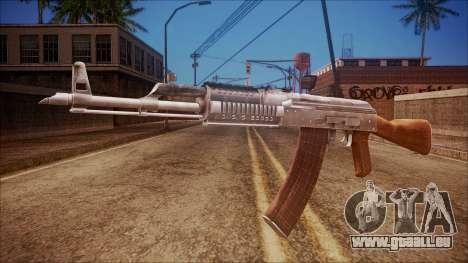 AK-47 v5 from Battlefield Hardline für GTA San Andreas