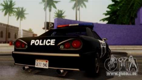 Police Elegy für GTA San Andreas linke Ansicht