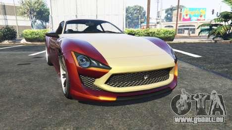 Lampadati Furore GT Maserati für GTA 5