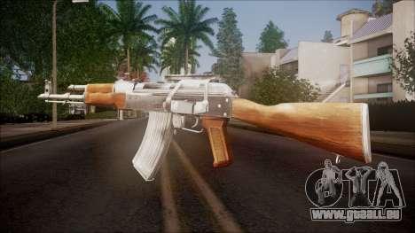 AK-47 v1 from Battlefield Hardline pour GTA San Andreas deuxième écran