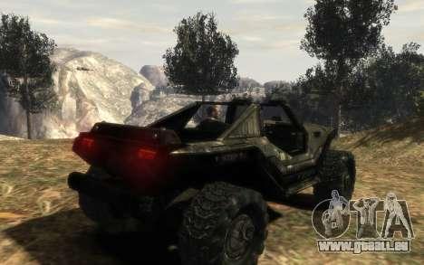 Conseil de sécurité M12 warthog de Halo Reach pour GTA 4 est une gauche
