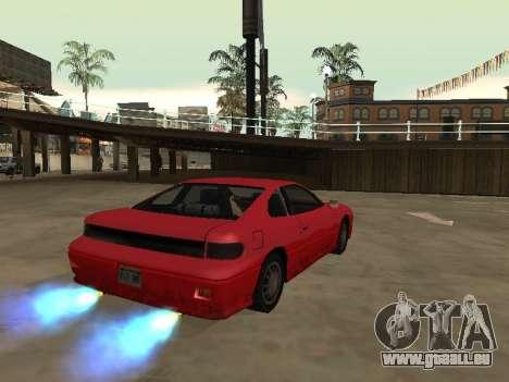 Supprimer l'effet de flou lorsque vous allumez n pour GTA San Andreas deuxième écran