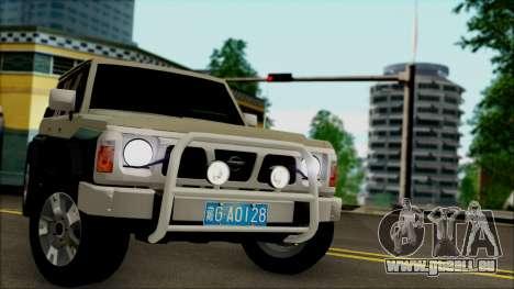 Nissan Patrol Y60 für GTA San Andreas