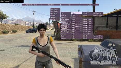 GTA 5 Skin Control 2.0 zweite Screenshot