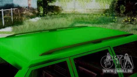 Landstalker New Edition für GTA San Andreas rechten Ansicht