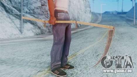 Red Dead Redemption Scythe für GTA San Andreas dritten Screenshot