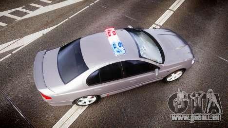 Ford Falcon XR8 Unmarked Police [ELS] pour GTA 4 est un droit