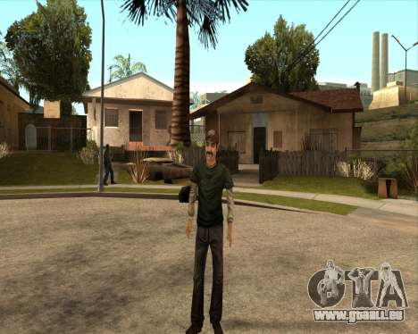 Kenny from Walking Dead für GTA San Andreas dritten Screenshot
