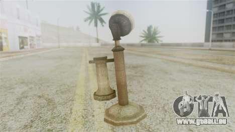 Red Dead Redemption Cell Phone pour GTA San Andreas deuxième écran