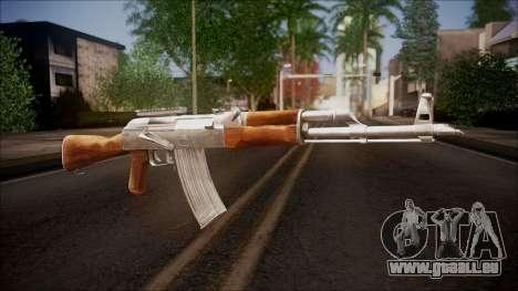 AK-47 v1 from Battlefield Hardline für GTA San Andreas