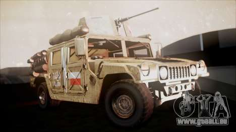 Polish HMMWV für GTA San Andreas rechten Ansicht
