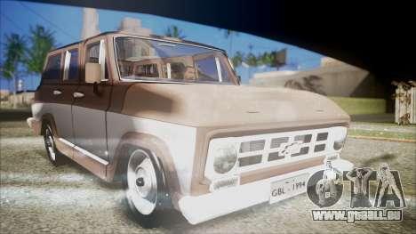 Chevrolet Veraneio für GTA San Andreas