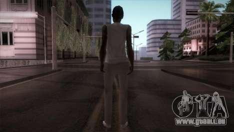 Lady Barber pour GTA San Andreas troisième écran
