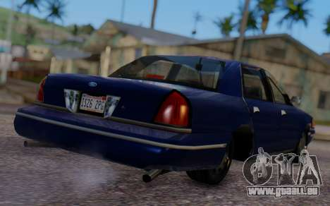 Ford Crown Victoria Civillian für GTA San Andreas linke Ansicht