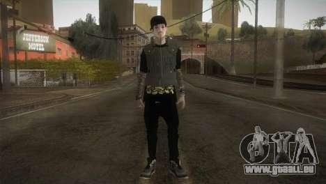 Swager Apalah Apalah pour GTA San Andreas deuxième écran