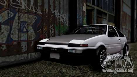 Toyota AE86HB pour GTA San Andreas